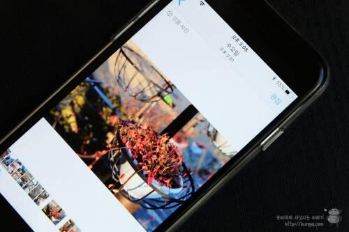 인물사진 모드 포함한 아이폰 필터 사진 컴퓨터로 옮기기