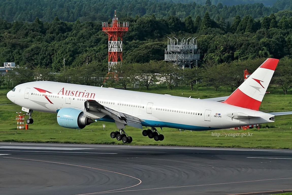 Austrian Airlines /  Boeing 777-2Z9/ER / OE..