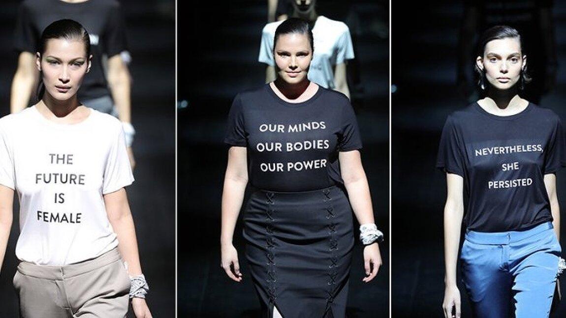 프라발 그룽의 페미니즘 티셔츠