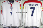 "03/05 England Home L/S No.7 ""Beckham"" (SOLD OUT)"