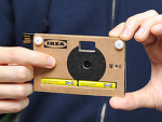 이케아의 종이로 만든 카메라