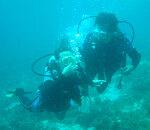 몇장 없는 스쿠버 다이빙 사진
