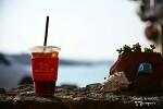 제주 카페 봄날, 애월 아름다운 바다에서 커피 한 잔