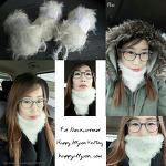 클래시한 패션 펄 넥워머 II (Fashion Fur Neck Warmer)