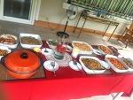 한국음식으로 가득 차려진 필리핀 현지인 친구집에서 점심파티