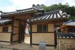 탱자나무로 유명한 문경 장수황씨 종택