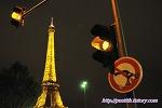 2년만에 다시 찾은 샤요 궁, 황금빛 드레스로 갈아입은 밤의 에펠탑.