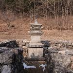 [강원 홍천] 수타사삼층석탑 (문화재자료 제11호)