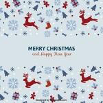 크리스마스에 어울리는 아기자기하고 예쁜 디자인 소스 모음