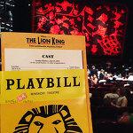 [뉴욕] 브로드웨이 베스트 뮤지컬! '라이온킹 The Lion King'