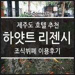 제주도 숙박 추천, 제주 숙소 예약, 하얏트리젠시 조식뷔폐 이용후기