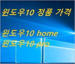 윈도우10 정품 가격 - 윈도우10 home pro 가격  저렴하게 구입 하려면? dsp 버젼