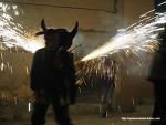 스페인에도 '붉은악마'가? 신나는 불꽃 몰이 현장