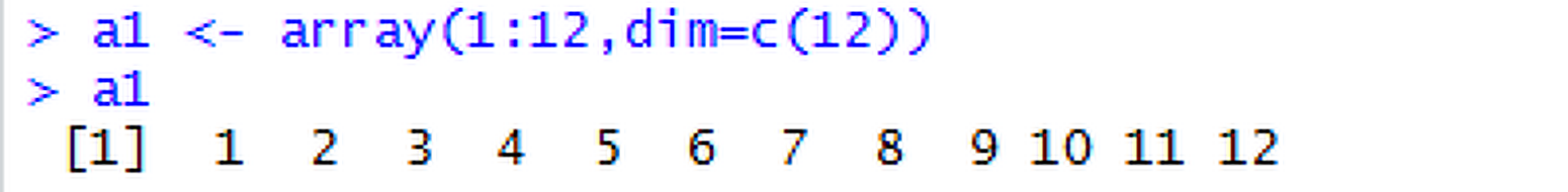 [03-5] R언어 - array 의 상세