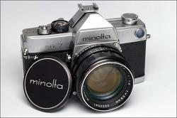 minolta SR-7 + AUTO ROKKOR-PF 58mm F1.4