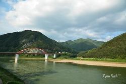 단양여행] 패러글라이딩과 단양 고수교 남한강 풍경