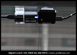 파인뷰 X1000 블랙박스 후방 영상 비교(주/야간, 나이트비전)