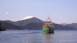 芦ノ湖 , 箱根 (Lake Ashi, Hakone) (4K)
