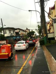 필리핀에서 겪었던 끔찍한 오토바이 교통사고