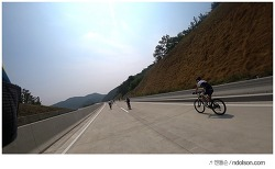 FHD액션캠 상주 영천 고속도로 자전거대회 소니AS300 자전거액션캠