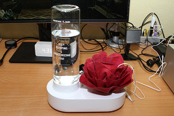자연기화식 USB 가습기 엠아이 USB 가습기 실사용기