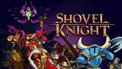 """독특하고 새로운 8 피트 픽셀 형식의 게임 """"Shovel Knight"""" (셔블 나이트), 일명 삽질 기사"""