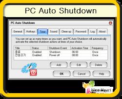 PC Auto Shutdown 6.7 - [갱신] 2017.09.26