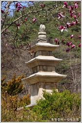 충북 단양 향산리삼층석탑