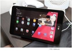 G패드4 8.0 LTE 스펙 가볍고 한손 잡히는 안드로이드태블릿 추천
