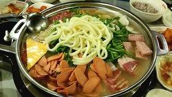 [서울역 > 서울스퀘어] 수제햄이 맛있는 '박가부대찌게'