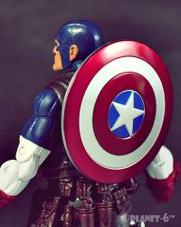 Marvel Legends Hit Monkey Series - Ultimate Captain America