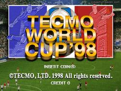 마메(MAME) - 테크모 월드컵 98 (Tecmo World Cup 98)
