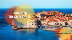 [포토샵 강좌] 사진을 극적으로 변화시키는 Tilt-Shift 블러효과