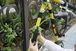 아이디어 자물쇠, 알톤 자전거 자물쇠 7관절 사용 후기! - 스트라이다 자전거 자물쇠 어때?