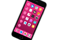 탈옥안한 순정 iOS 10 아이폰 홈화면 폴더 아이콘 동그라미로 만들기