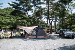 [캠핑스케치.001][2016-08-15~17] 강원도 영월 소나무와계곡 캠핑장에서 초캠을...