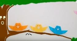 쉬운종이접기 새