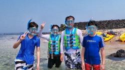 제주도 가족체험여행 영상! '무인도 카약, 스노쿨링 & 문섬 스쿠버다이빙' | 제주액션로드