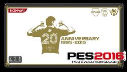위닝일레븐 (PES) 2016 20주년 기념작이지만 특별한것은 없었다.