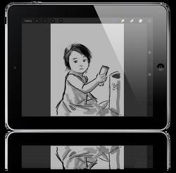 아빠사진사의 iPad Air 사용기