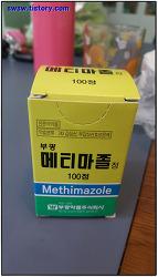갑상선 치료제 부광 메티마졸 리뷰