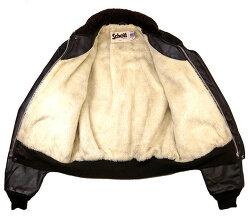 Schott의 A-2 가죽 재킷, 그리고 라벨과 태그