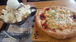 부천 신중동 치즈설빙과 드디어 먹은 피자떡볶이~^^