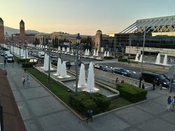 몬주익 음악분수쇼 바르셀로나 에스파냐역으로!