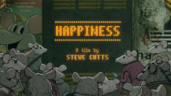 'Happiness'  by Steve Cutts