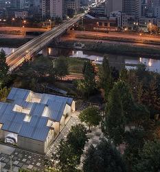 [한내 자연의 숲, 2017서울시건축상 대상] 럭스틸, 도시와 자연을 잇다