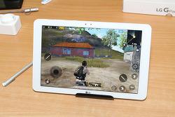 LG 지패드3 10.1 영화감상 배틀그라운드 게임 해보기