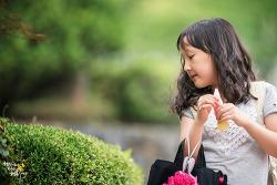 소니 반근이(?)로 촬영한 딸 사진입니다.^^