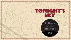 Tonight's Sky January 2018