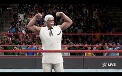 이번엔 진짜다!. KFC의  커넬 샌더스 WWE 2K18 참전 (...)